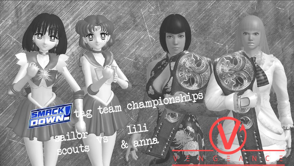 Vengeance 2017 - SD! Tag Team Championships by JoeyTribbiani125