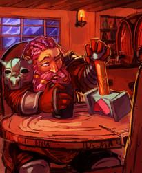 Speedpaint - Dwarf Bard