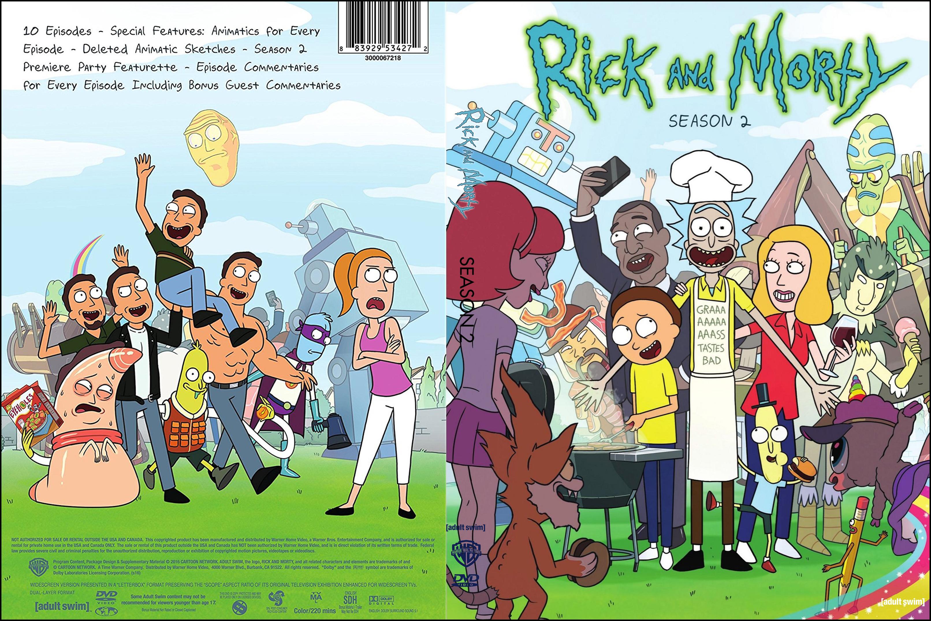 Rick And Morty - Temporada 2 (Season 2) by Rafa-Zelotti on DeviantArt