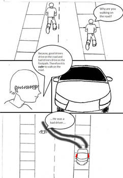 Comic 1: Walking On The Road