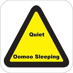 Quiet. Oomoo Sleeping