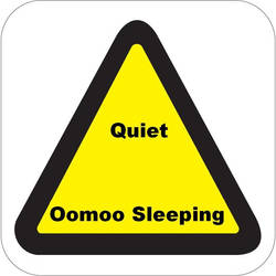 Quiet. Oomoo Sleeping