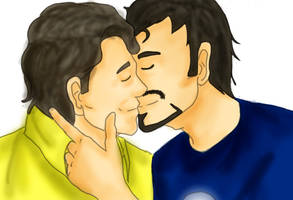 :The Avengers: just kiss me by FrancYeah