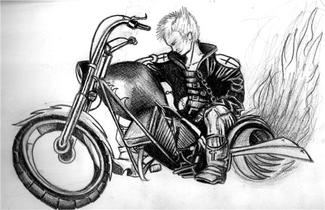 My charactor existence biker by Existencebiker