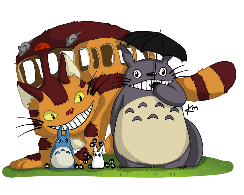 Totoro May: My Neighbour Totoro By KialuuMergle On DeviantArt
