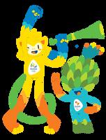Olympic Mascots by KialuuMergle