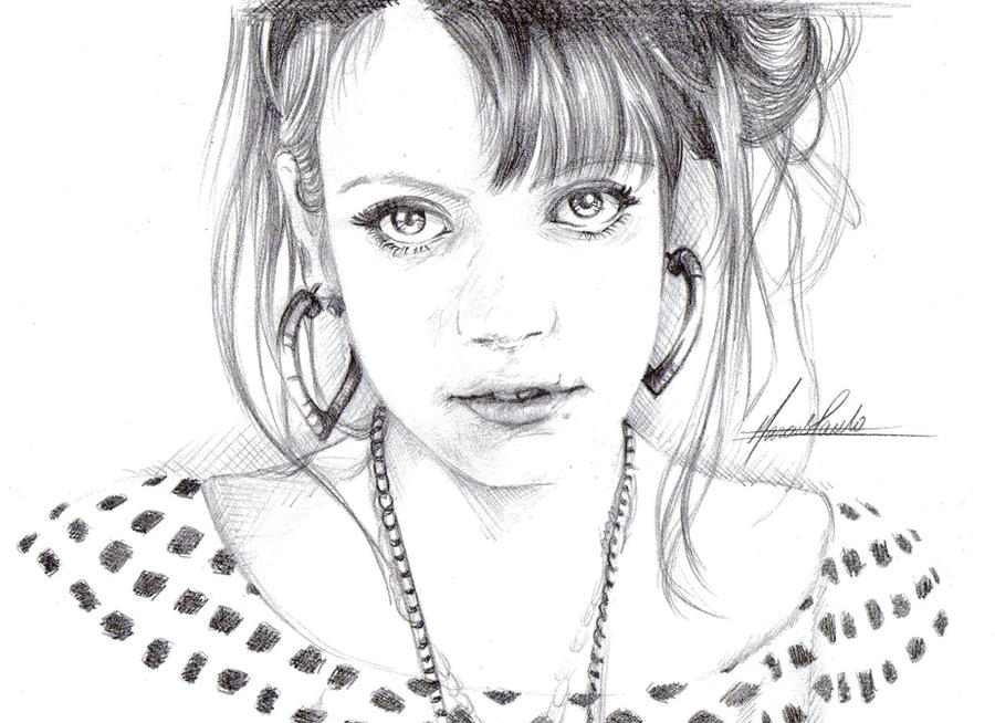 Lily Allen by kamawanai