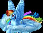Mane Six - Rainbow Dash