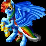 Gala Rainbow Dash
