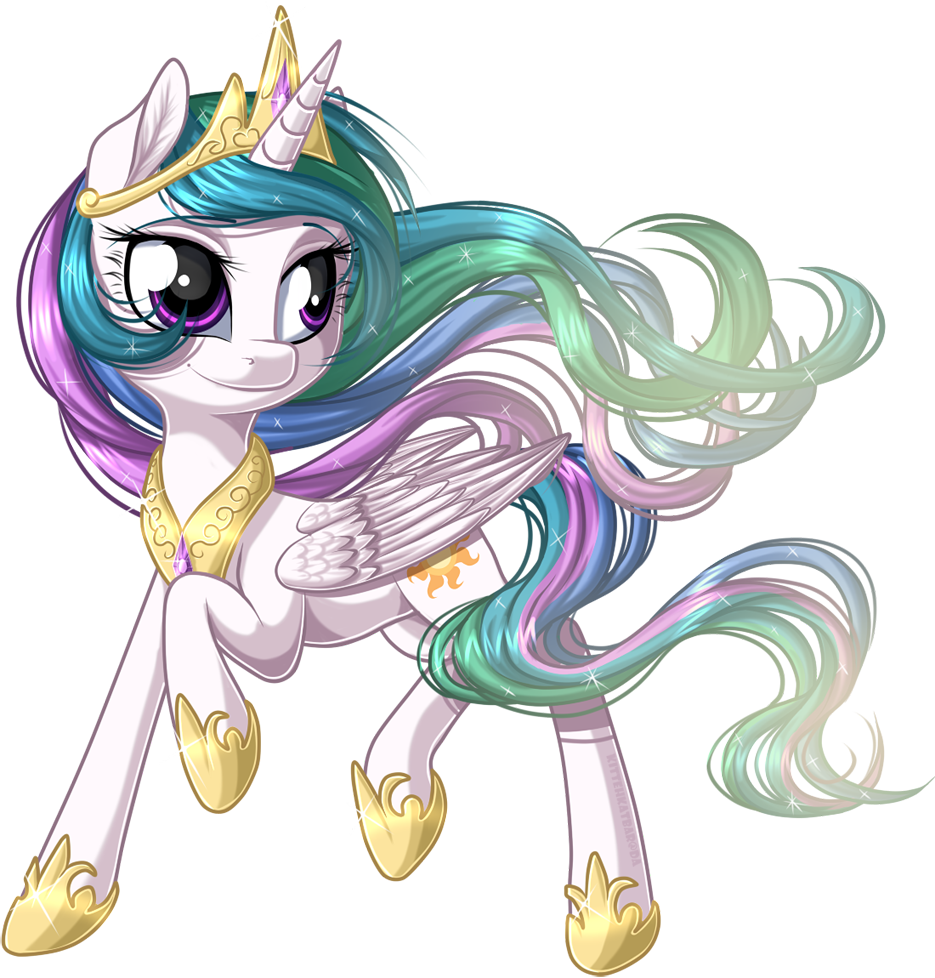 Prancing Pony Princess by KittehKatBar