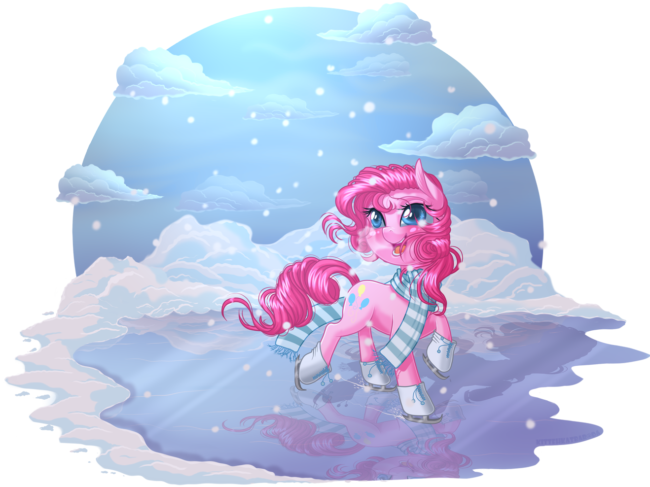 Ice Skating by KittehKatBar