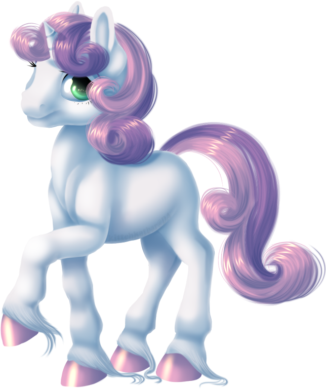 Sweetie Belle by KittehKatBar