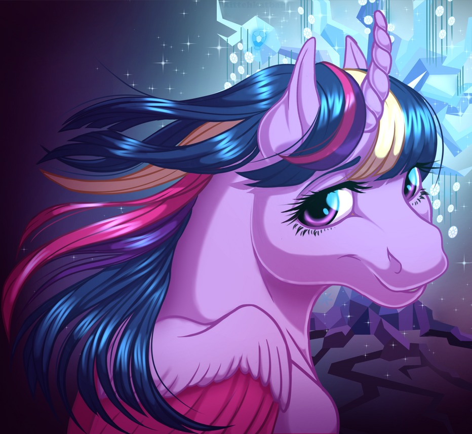Rainbow Power Twilight by KittehKatBar