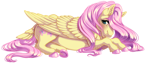 Fluttershy by KittehKatBar