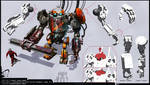 Construction Site Robot GB-7