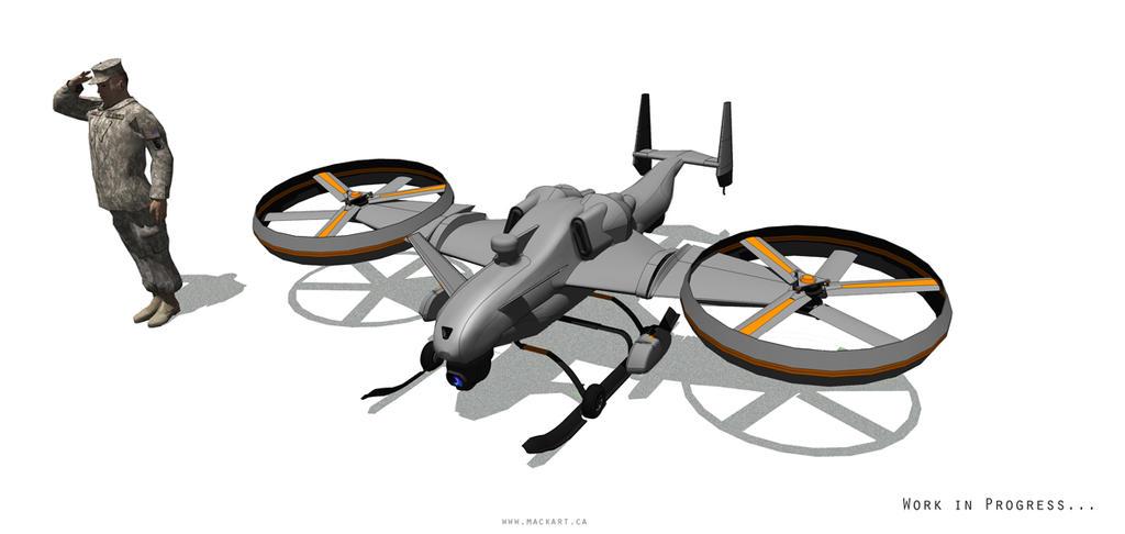 UAV by MackSztaba