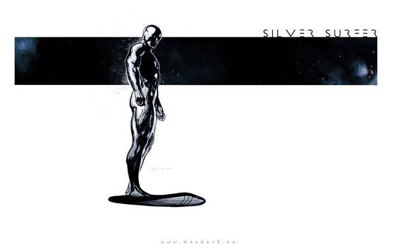 Silver-Surfer-Sketch