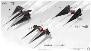 First Order : Tie Fighter