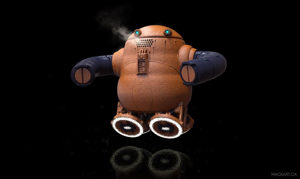 Hover-Bot by MackSztaba