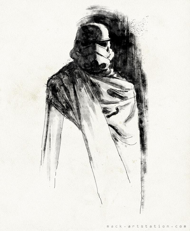 Stormtrooper by MackSztaba