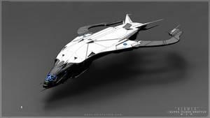 Alpha-Class Shuttle- W.I.P. by MackSztaba