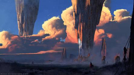 The City by MackSztaba