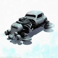 Hot-Rod-2050 by MackSztaba