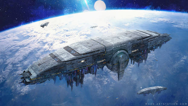 High Orbit Station