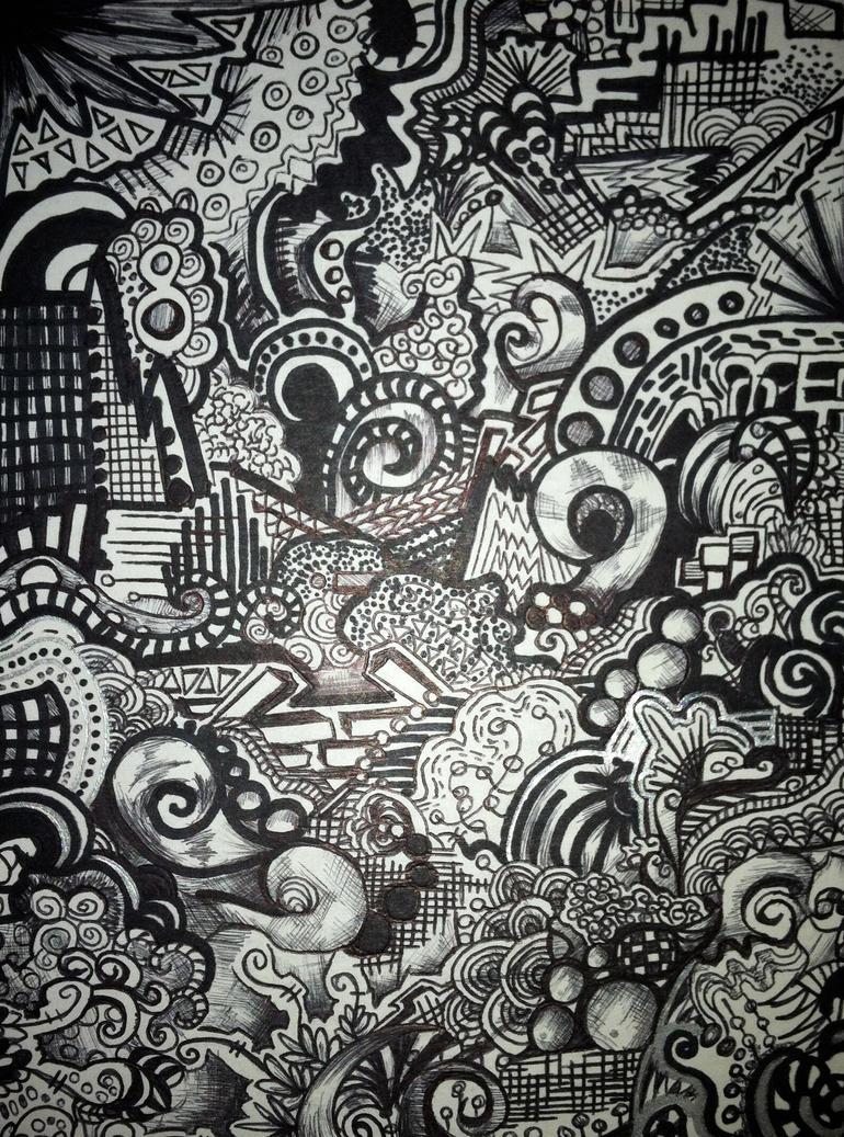 Zentangle By Moonlightbunny5 On DeviantArt