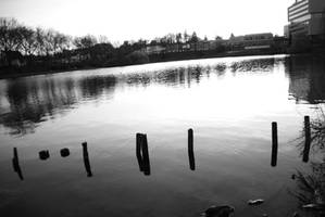 Brunssum pond blackngrey by nsanenl