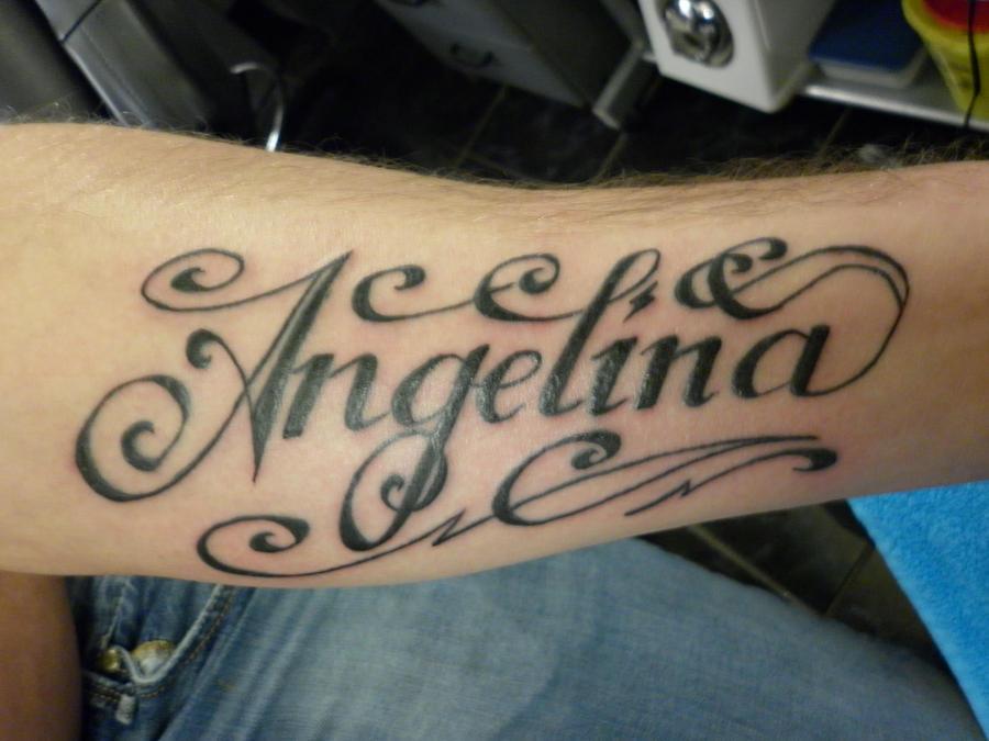 angelina tattoo updated by nsanenl on deviantart. Black Bedroom Furniture Sets. Home Design Ideas