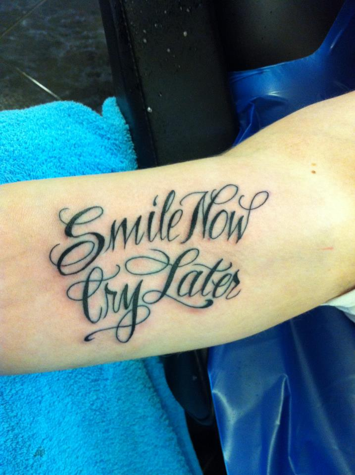smile now cry later scipt by nsanenl