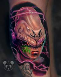 Kid buu tattoo majin by nicklimpz