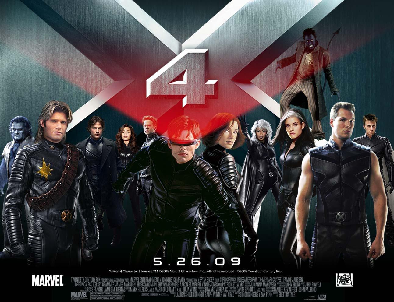 X-MEN 4 เอ็กซ์ เม็น ศึกมนุษย์พลังเหนือโลก ภาค 4 HD 2009 FullHD1080p