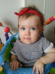 My LIL GranDaughter is a REAL CUTIE )))))))))))))