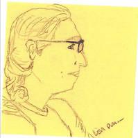 Post It Portrait - Lauren