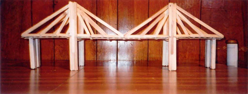 suspension bridge popsicle sticks