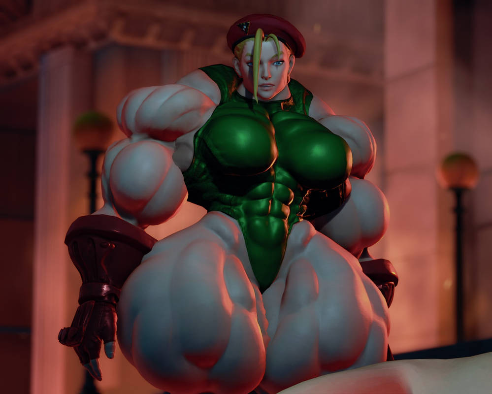 Muscle Goddess Cammy Stage 3 by Ripped-Pixels