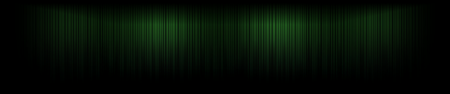 Green Lines - Triple Screen by Hypokrates