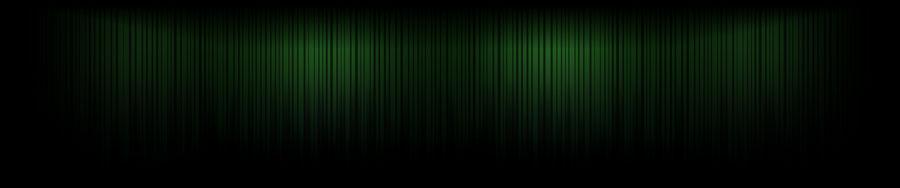 Green Lines - Triple Screen