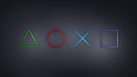 PlayStation Symbols Wallpaper by Hypokrates