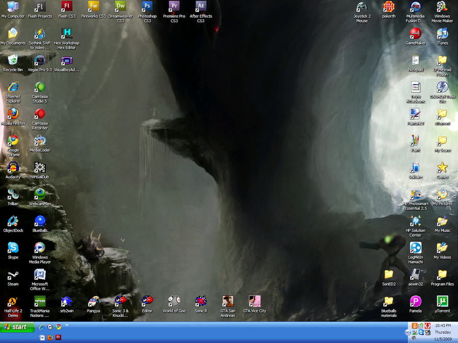 Desktop Nov. Edition by gameboyhero