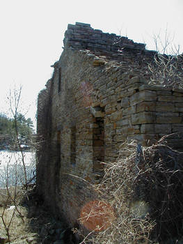 Ruins of old mill in Rossie NY