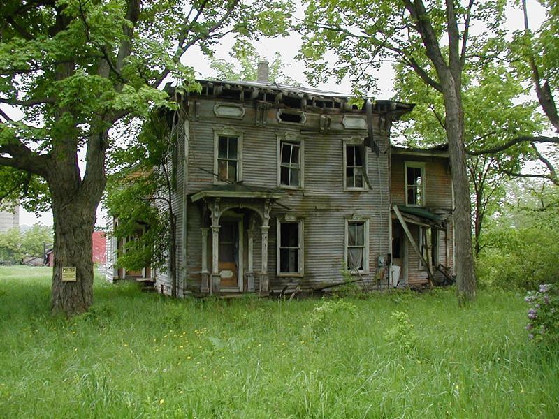 Old farmhouse, Depauville, NY
