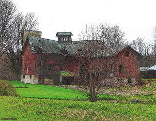 Old Barn Photo Manip by Lectrichead