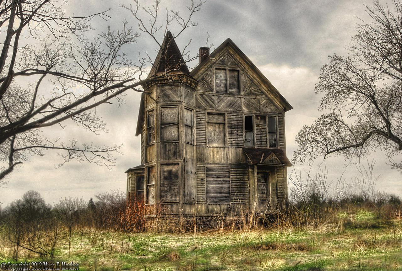 Фото старых домов в лесу 4