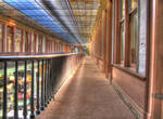 Arcade in Watetown HDR