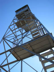 Tower on top of Mount Arab, NY