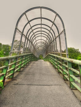 Footbridge over Thruway, NY