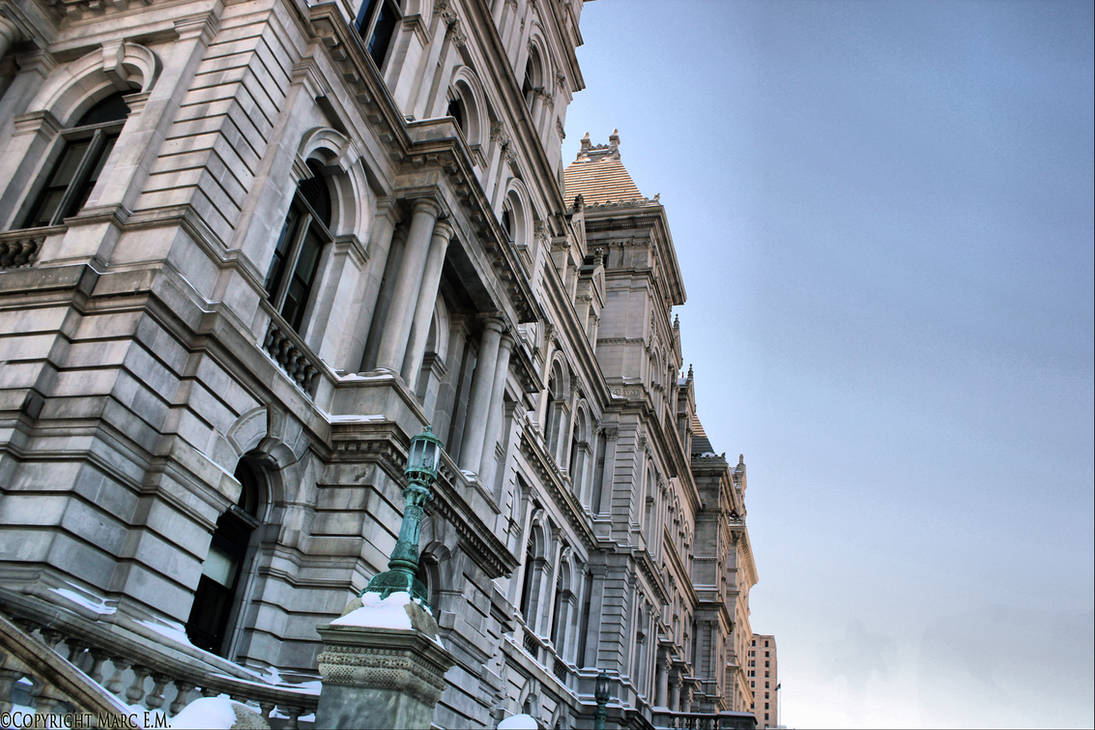 Capitol Building, Albany, NY - HDR by Lectrichead